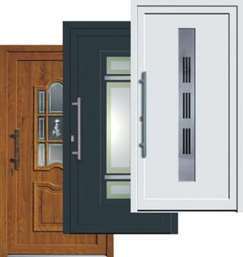 kunststoff haust ren schreinerei hiesinger. Black Bedroom Furniture Sets. Home Design Ideas